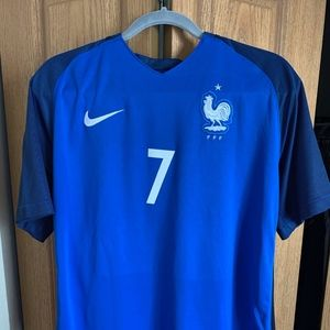Nike Antonie Griezmann French World Cup jersey